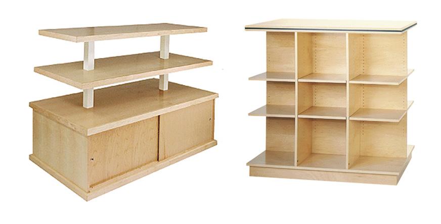 Wood Retail Shelving Mclennan Company