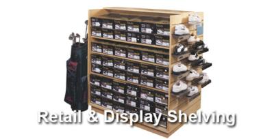 Retail Display Shelving Calgary