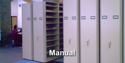 Manual Mobile Shelving Calgary